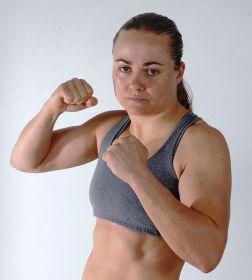 Carolina Karasek faz sua estreia no MMA (Foto: Arquivo Pessoal)